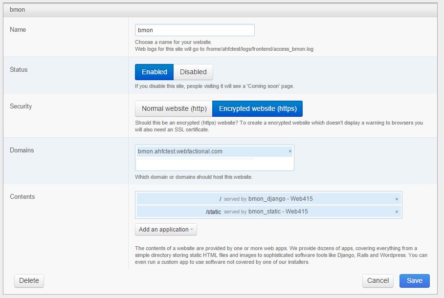 How To Install Bmon On A Web Server Bmon Documentation 001